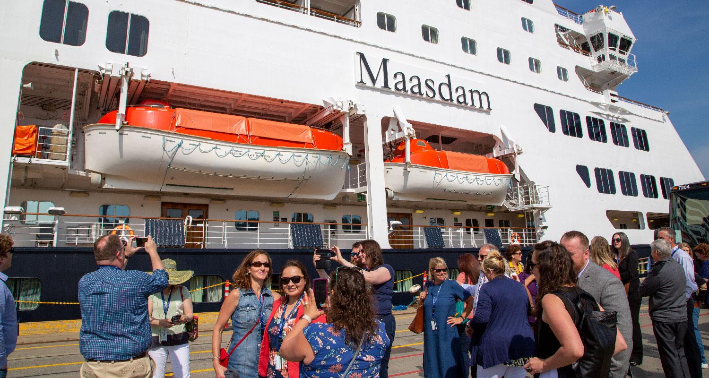 Maasdam tour