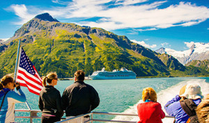 Almost half of cruise visitors take a day cruise like the ones offered by Phillips Cruises out of Whittier.