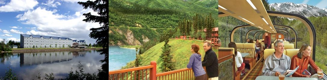 The cruise industry has invested in a significant amount of property and facilities throughout Alaska, including hotels/lodges, glass domed rail cars, motor coaches, offices and maintenance shops.