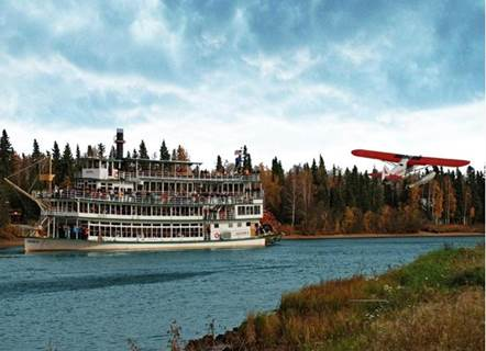Riverboat Discovery in Fairbanks