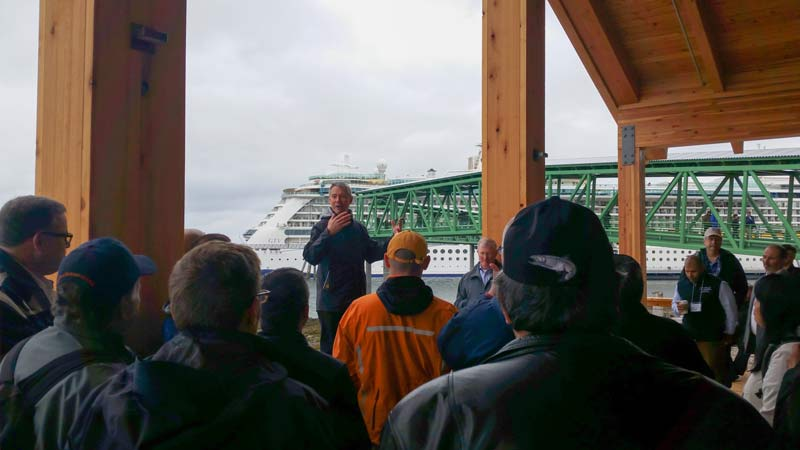 Icy Strait Point holds grand opening of new cruise ship dock