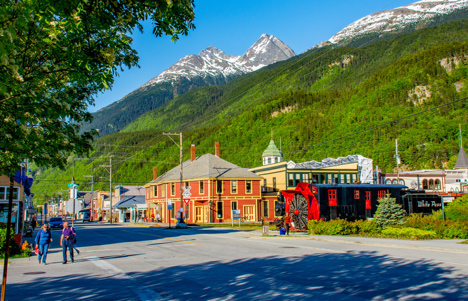 Klondike Gold Rush National Park of Skagway