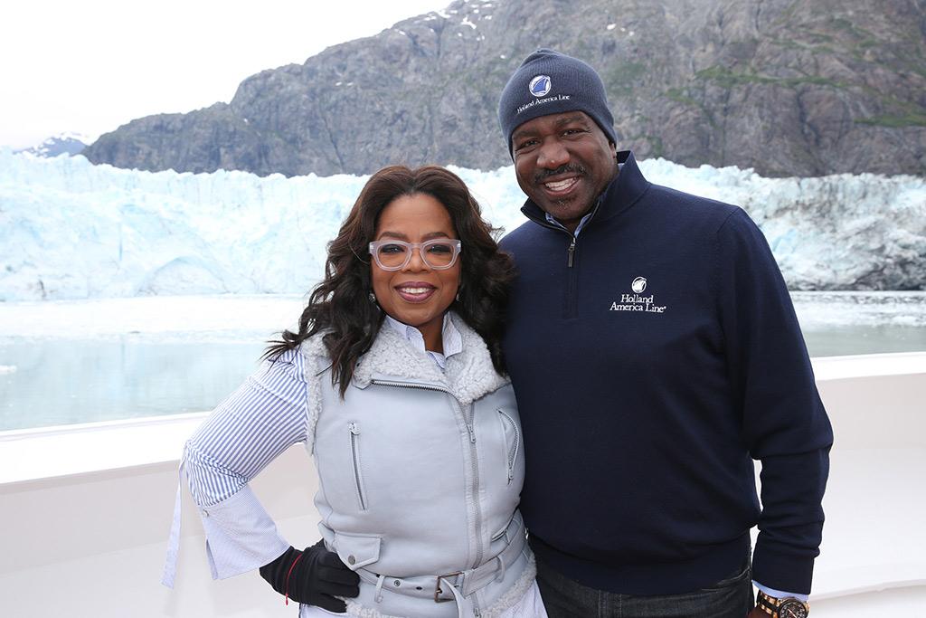 Oprah Winfrey in Alaska