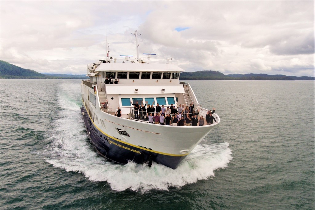 New Quest makes inaugural voyage
