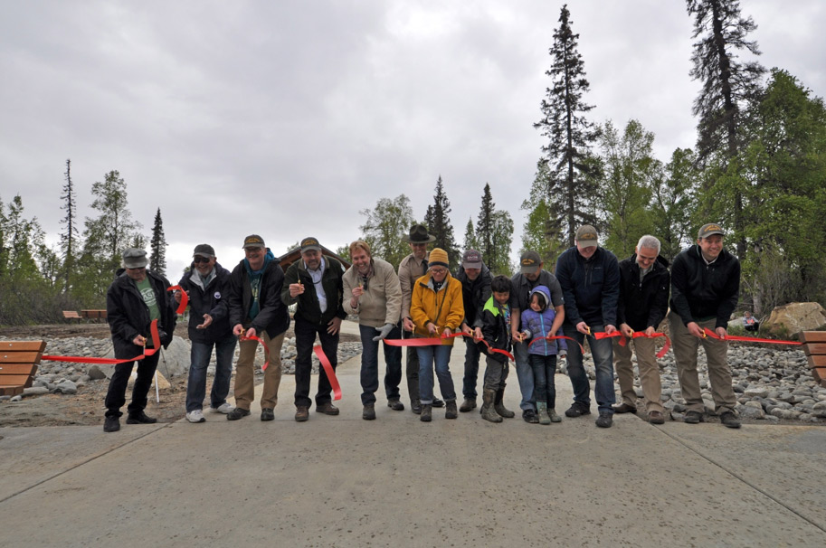 Campground open at South Denali
