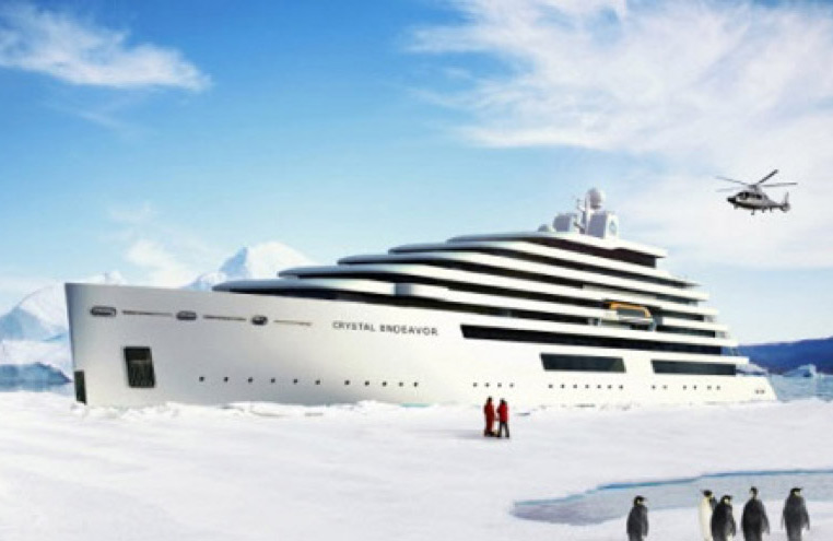 New Crystal ship for Northwest Passage