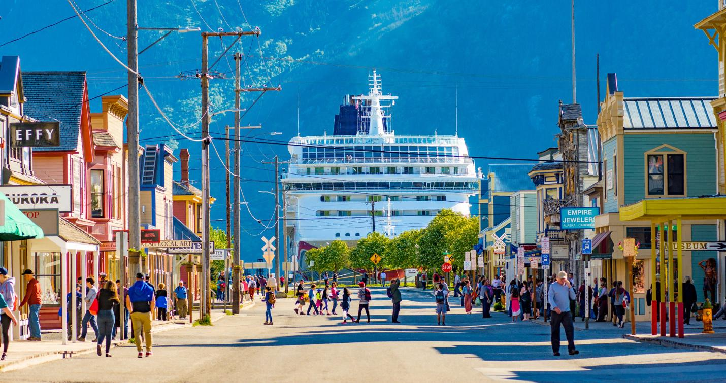 Alaska premier cruise destination in U.S.
