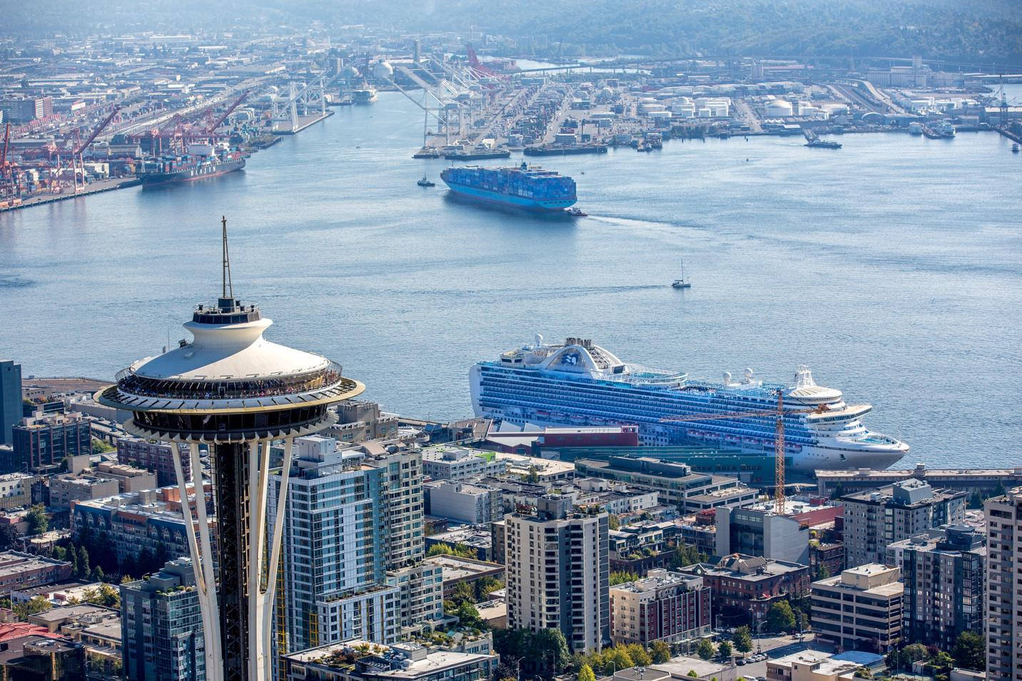 Seattle has biggest cruise season ever