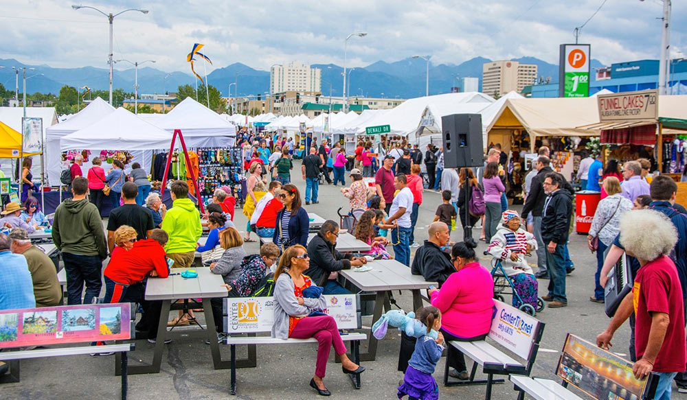 One-third of overnight Anchorage visitors come from the West