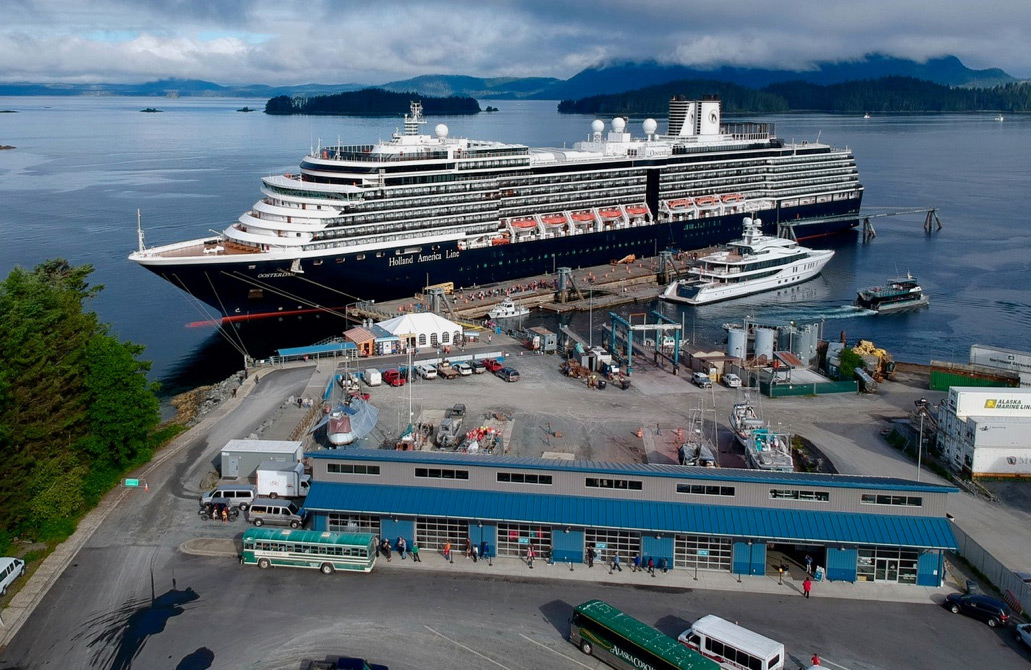 New cruise ship berth for Sitka