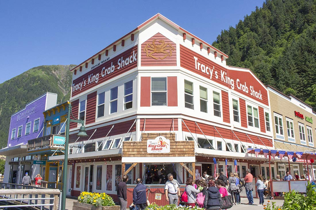 Tracy's Crab Shack Juneau AK