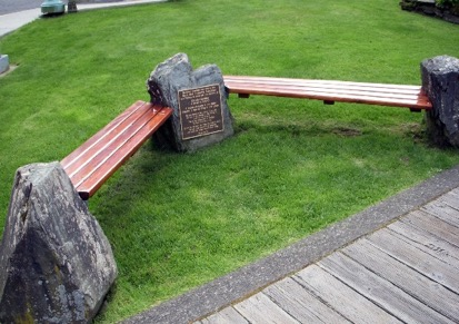 Geldaker memorial bench receives annual restoration