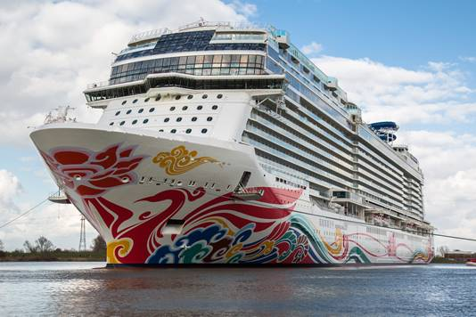 Norwegian Joy to join Bliss next season