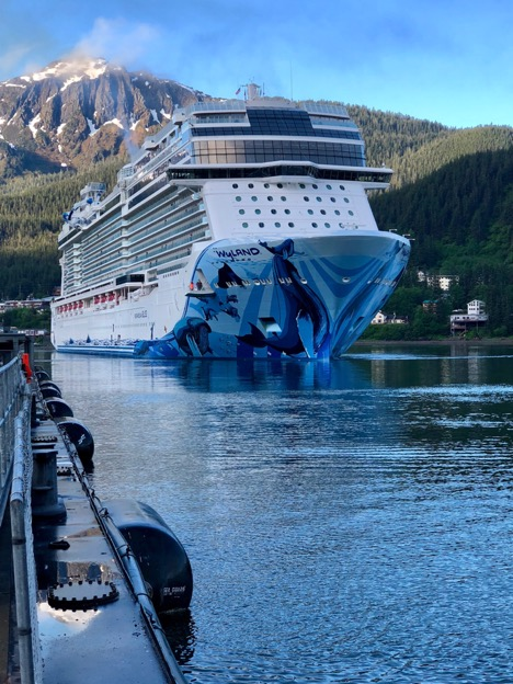 DEC Cruise Ship Program protects Alaska's air and water