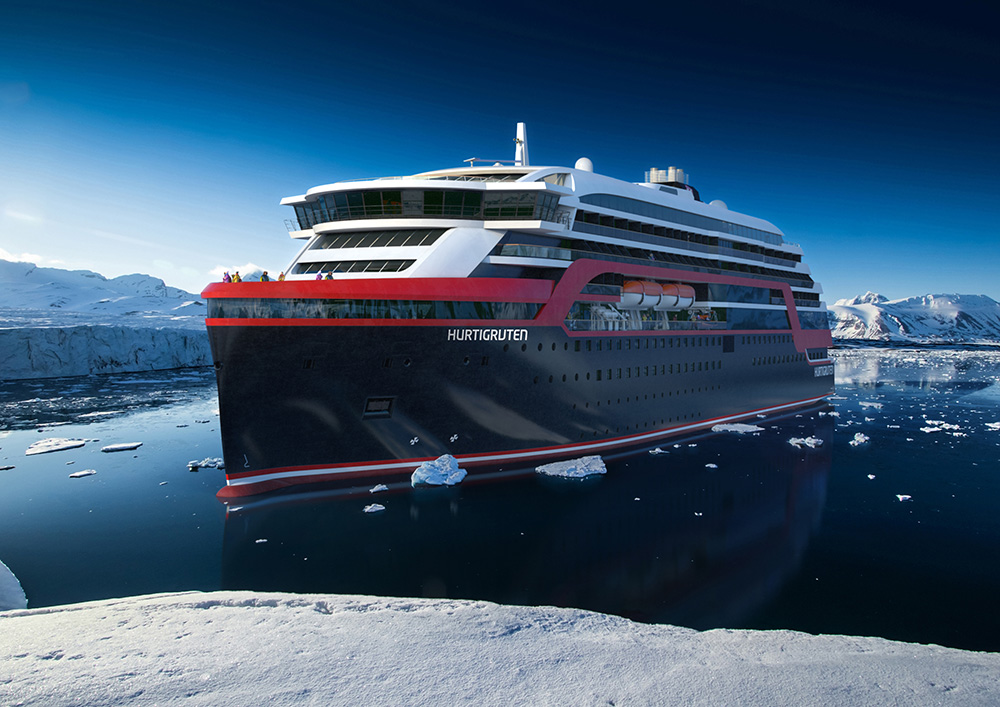 New hybrid expedition ship arrives next year