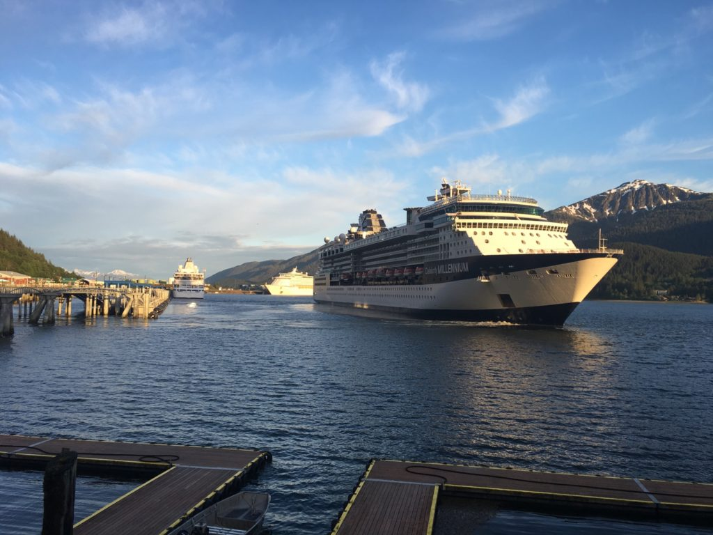 Celebrity Millenium in Juneau