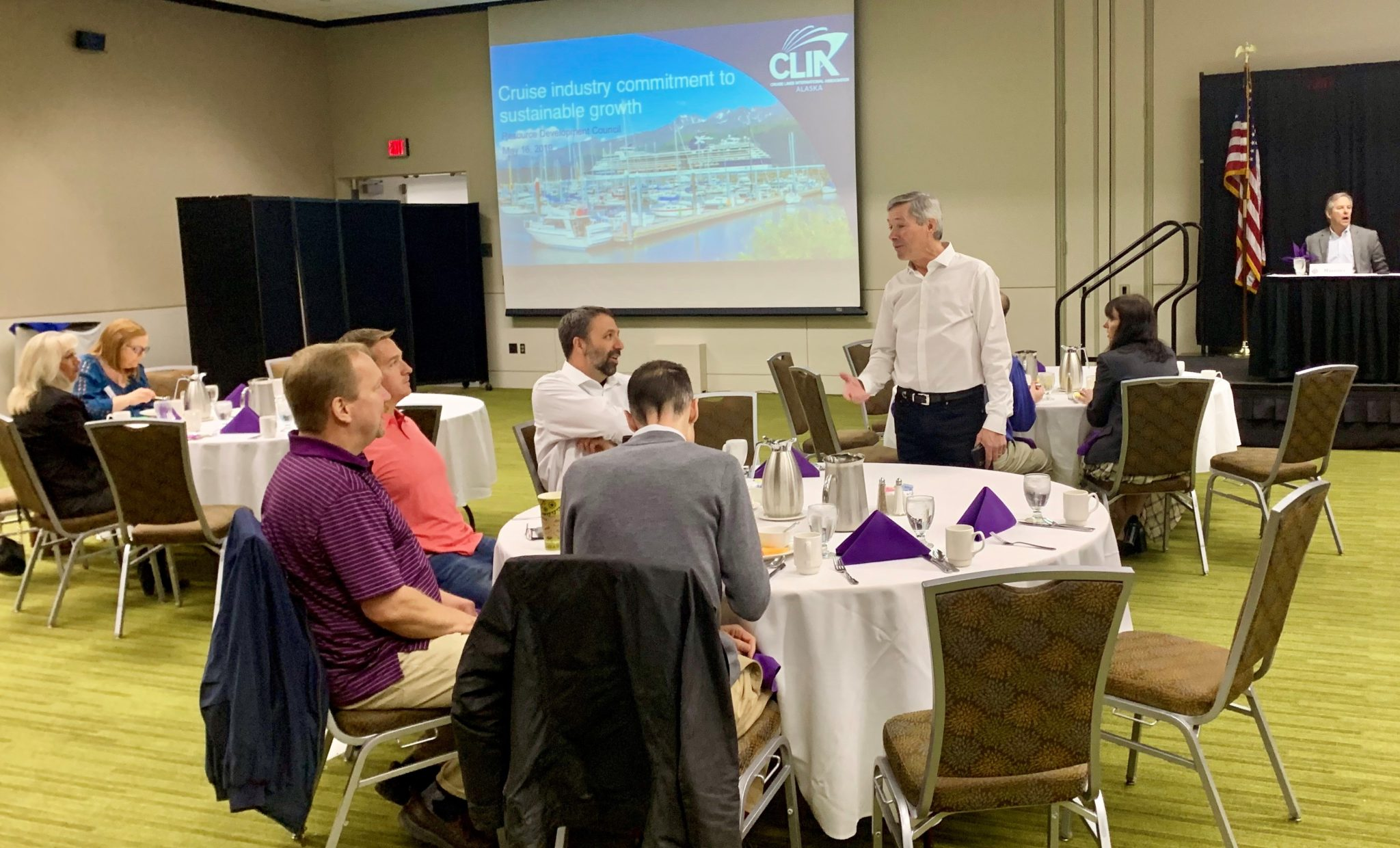 Sustainability on land and sea, CLIA Alaska's priorities