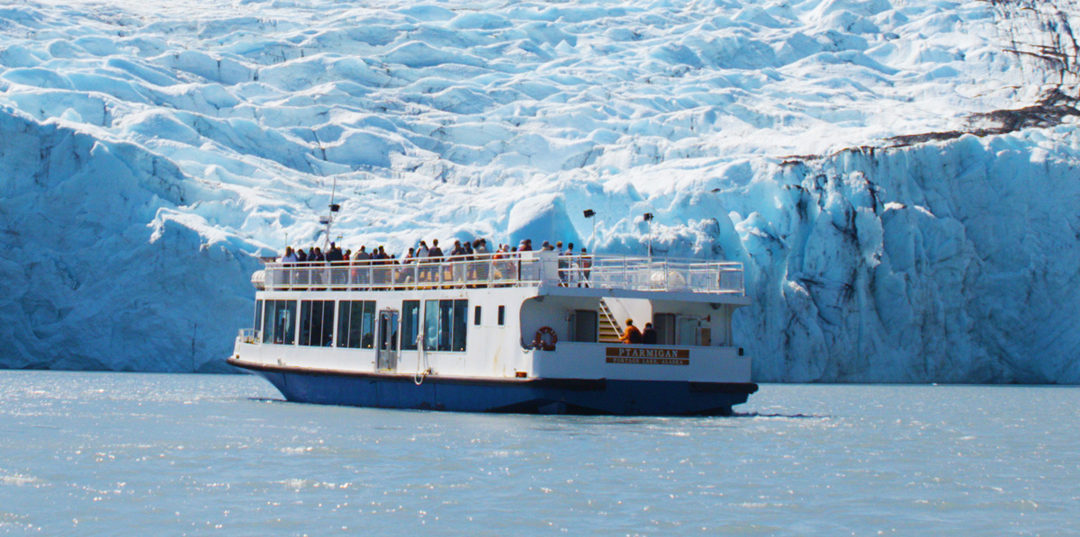Constant change is the only constant of this glacier cruise