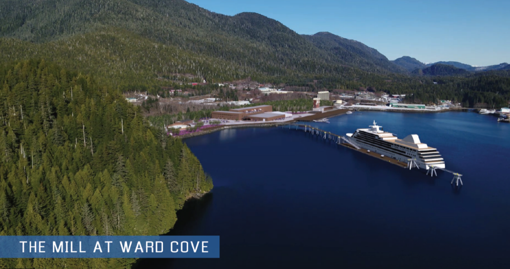 Partnership plans new cruise dock for Ketchikan