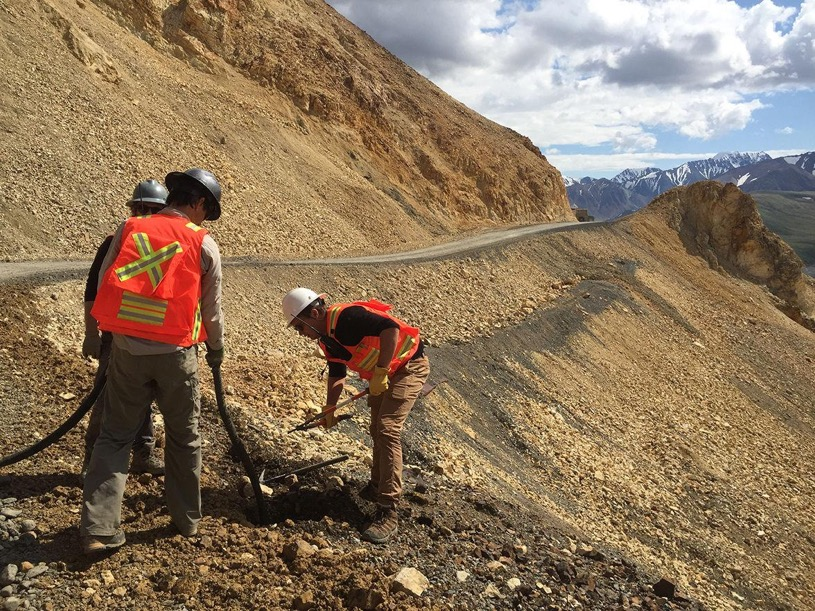 Warming weather sets stage for Denali landslide