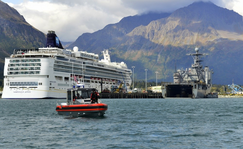 Navy completes exercises in Seward