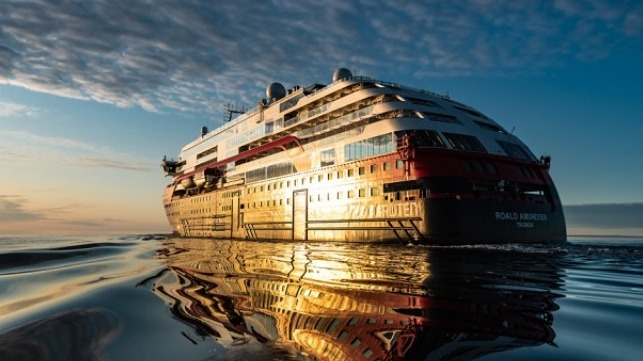 First hybrid cruise ship sails Northwest Passage