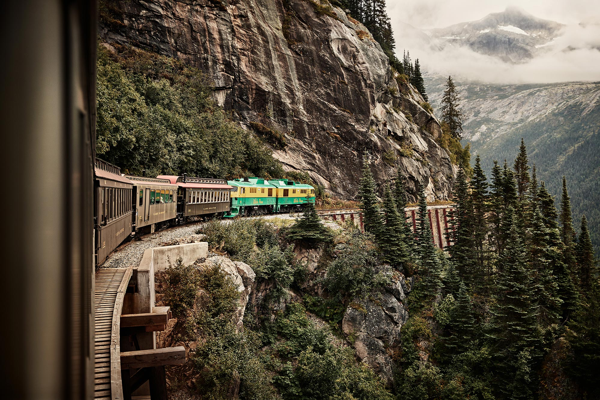 White Pass Railroad, Skagway, AK
