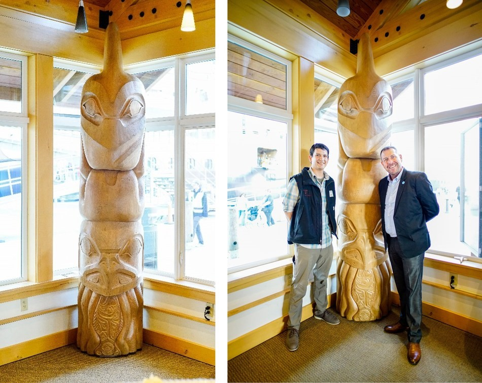 Princess dedicates special totem pole to Ketchikan